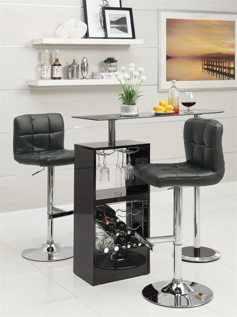 Modern Bar Counter with Stools